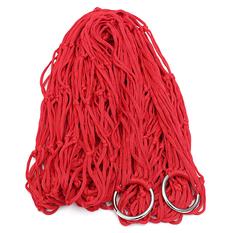 Nylon Hammock Hanging Mesh Net Swing (Red) (Intl)